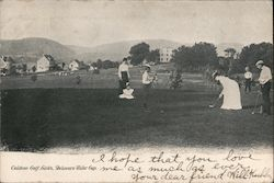 Caldeno Golf Links Postcard
