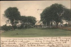 Oxford Country Club Postcard
