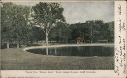 "Tenth Tee, ""Punch Bowl,"" Rock Island Arsenal Golf Grounds"
