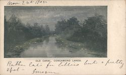 Old Canal, Congamond Lakes