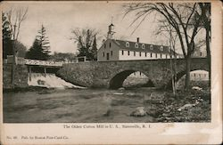 The Oldest Cotton Mill in U.S.