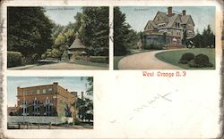 West Orange, NJ Postcard