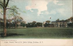 General View of St. John's College