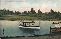 On the Steam Launch, Verona Lake