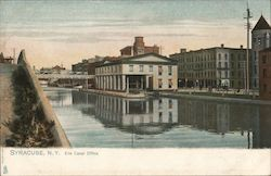 Erie Canal Office Postcard