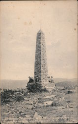Mt. Beacon Monument, erected by the daughters of the revolution Postcard