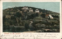 Cottages on Mt. Beacon Postcard