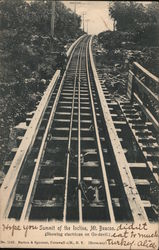 Summit of the Incline, Mt. Beacon Postcard