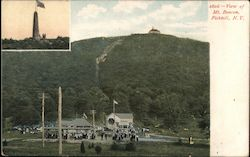 View of Mt. Beacon Postcard