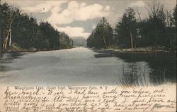 Wappingers Lake, Upper Inlet Postcard