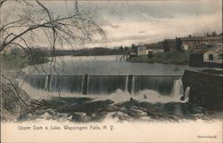 Upper Dam and Lake Postcard