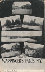 Views of Wappingers Falls Postcard