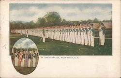 Dress Parade Postcard