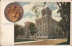 Academic Building Postcard