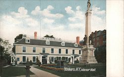 Manor Hall Postcard