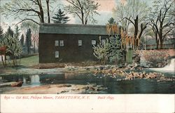 Old Mill, Philipse Manor, Built 1699 Postcard