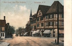 Main Street, West from Broadway Postcard