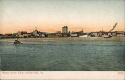 Water Front View Postcard