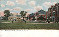 Williams College, Laboratories and Jesup Hall Postcard