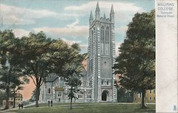 Williams College, Thompson Memorial Chapel Postcard