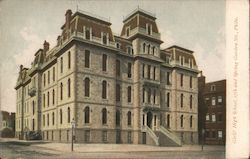 Girls' High School, 17th and Spring Gardens Sts. Postcard