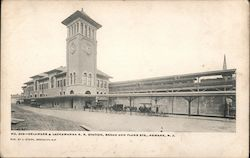 Delaware & Lockawanna R.R. Station, Broad and Plane Sts.