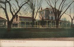 Belmont Mansion, Fairmount Park Postcard