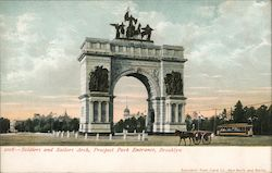 Soldiers and Sailors Arch, Prospect Park Entrance
