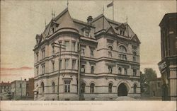 Government Building and Post Office Postcard