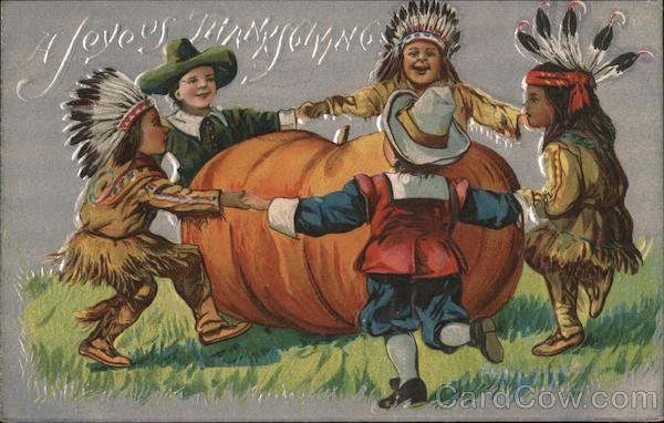 A Joyous Thanksgiving Indians