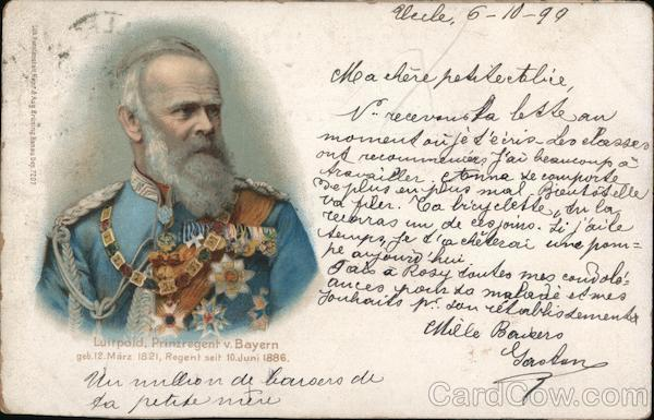 A Man with a White Beard in a Decorated Soldier's Uniform