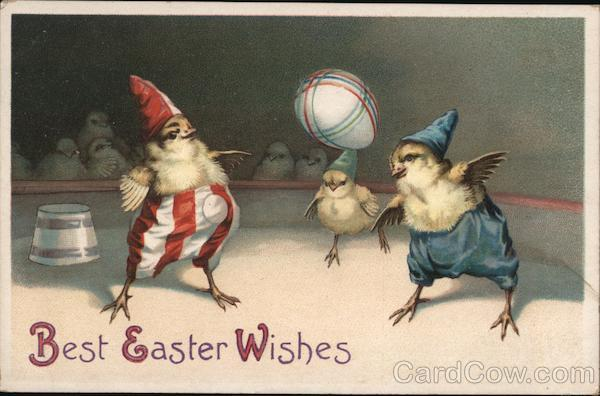Best Easter Wishes With Chicks