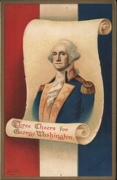 Three Cheers for George Washington Ellen Clapsaddle