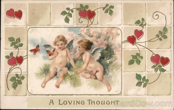A Loving Thought Cupid