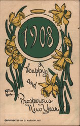 1908 with Daffodils