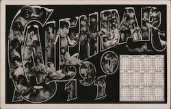1910 Calander with Women On It