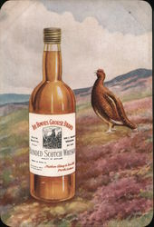 Grouse Brand Scotch Whiskey Postcard