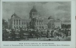 New State Capitol at Harrisburg