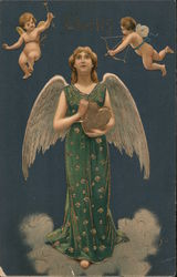 Charity: Cupids in the Sky Postcard