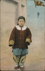Chinese Boy Postcard