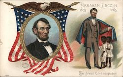 Abraham Lincoln 1809-1865 Postcard