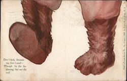 Bear Feet Card #1 of 4