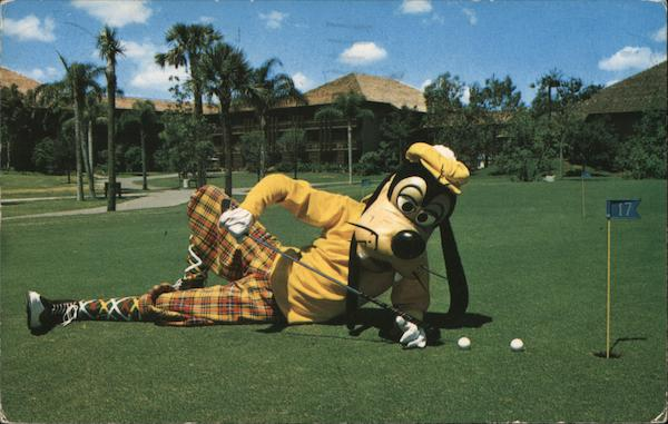 A Goofy Way to Putt, Walt Disney World Golf Resort Orlando Florida
