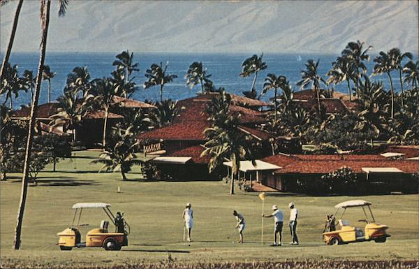 Royal Lahaina Golf Course Lanai City Hawaii