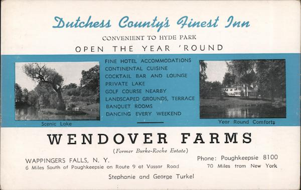 Wendover Farms and Inn Wappingers Falls New York