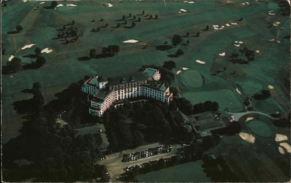 Airplane View of the Westchester Country Club Rye New York