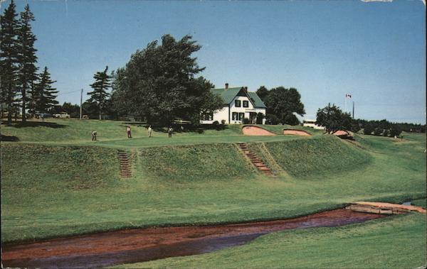 Picturesque 9th Green Cavendish Prince Edward Island Canada