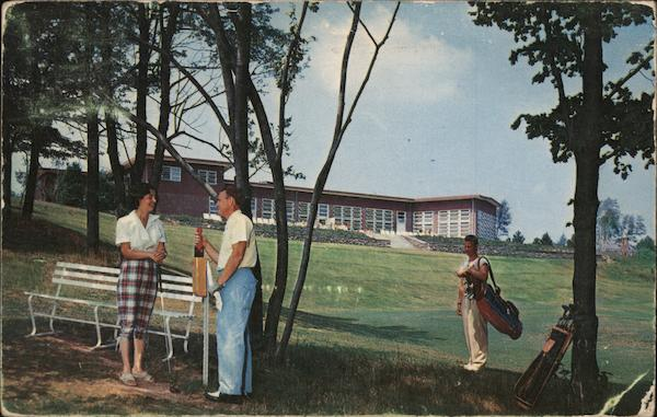 Concord Hotel, Club House at Concord International Golf Course Kamesh Lake New York
