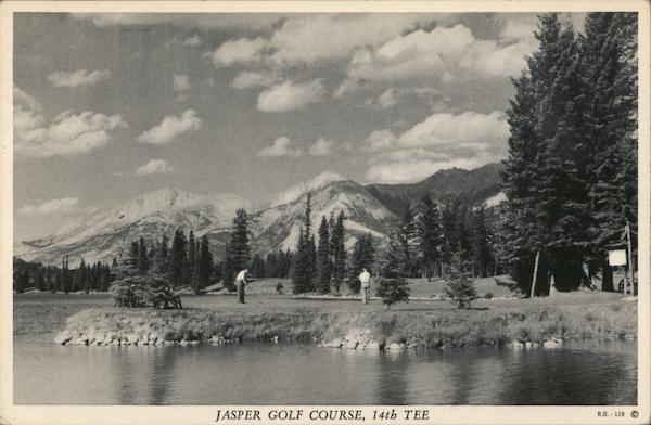 Jasper Golf Course, 14th Tee Alberta Canada