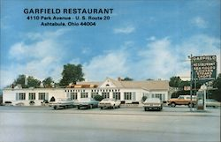 The Garfield Restaurant at US Route 20 & Lake Avenue Postcard